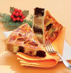 Hungarian Christmas Cake or Beigli Torta  (recipe is in Hungarian)