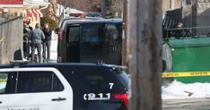 Police investigate three bodies found in a garage in the 4700 block of West Burleigh Street in Milwaukee. Here they work in an alley ne. Bubble Boy, Milwaukee County, Court Records, Amber Alert, County Jail, Boys Life, Police Chief, Two Daughters, Domestic Violence