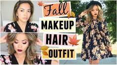 Cozy Fall Makeup, Hair + Outfit! GET READY WITH ME!