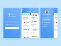 Touch Donation - Donation App 1 by Ahmad Nur Fawaid #Design Popular #Dribbble #shots