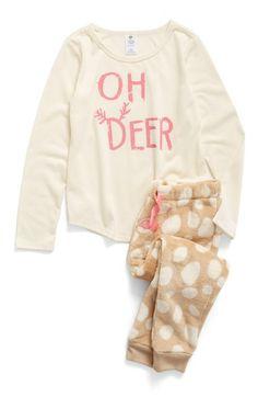 ceee54e900 Tucker + Tate Two-Piece Pajamas (Toddler Girls