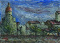Biografia di Ottone Rosai - Paesaggio 1944