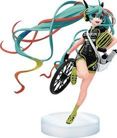 Crunchyroll - Hatsune Miku 2016 Racing Version Vinyl Figure - Vocaloid http://amzn.to/2kiLc1Z