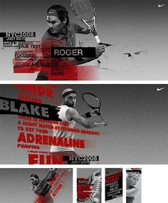 Nike Tennis - by Chris Pacetti