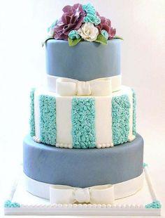 A beautiful cake by Sweet Avenue Cakery