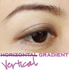 Eyeshadow Tutorials for Asian Eyes Part 2: Vertical Gradient Method | Bun Bun Makeup Tips and Beauty Product Reviews