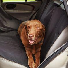 SymbolLife Waterproof Pet Car Seat Cover Car Rear Seat Protector Black: Amazon.co.uk: Pet Supplies