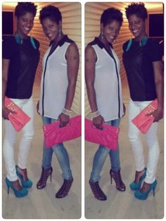 ChicMadness: Photo.. Twins who rock! ;)