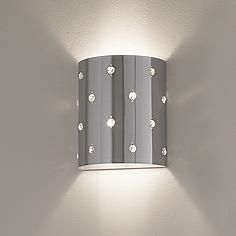 """Bling Bling Collection 8 1/2"""" High ADA Compliant Wall Sconce"""