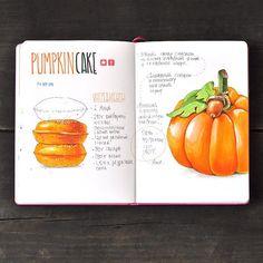 Pumpkin cake recipe by anna.rastorgueva