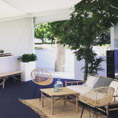 Eames  Sofas bambú  Alfombras de fibra  www.belindaduart.es  Bodas y eventos  Venta de mobiliario