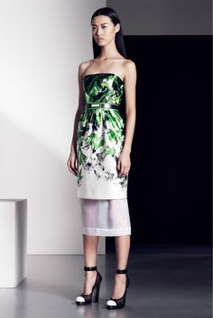 Prabal Gurung Pre-Fall 2013 Fashion Show - Tian Yi