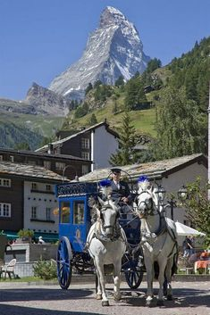 Grand Hotel Zermatterhof, Zermatt, Switzerland - Brings back memories of visiting there a lot of years ago. Zermatt, Places To Travel, Places To See, Travel Destinations, Places Around The World, Around The Worlds, Hotel In Den Bergen, Swiss Alps, Beautiful Places To Visit
