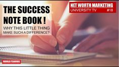 Why does a success journal help you so much? Our subconscious mind functions like a small protective mechanism. That's why we remember more often negative im. Marketing News, Direct Selling, Subconscious Mind, We Remember, Net Worth, Channel, University, Success, Tv