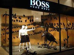 Hugo Boss window display