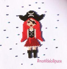 """1 mentions J'aime, 1 commentaires - Lollipuce (@lollipuce) sur Instagram: """"Une nouvelle poupée aujourd'hui, pirate. Après le square stitch interminable, je suis contente de…"""""""
