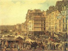 18thcentury life | Discovering Paris in the 18th century « Versailles and More