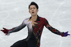 RIFU, JAPAN - NOVEMBER 24:  Daisuke Takahashi of Japan competes in the Men Free Skating during day two of the ISU Grand Prix of Figure Skating NHK Trophy at Sekisui Heim Super Arena on November 24, 2012 in Rifu, Japan.