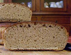 La Regina del Sapone: pane - preparazione del lievito naturale