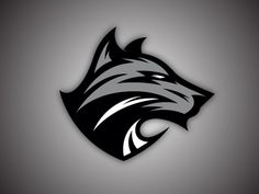 Wolf Version 2 designed by Tortoiseshell Black. Overwatch Tattoo, Tribal Wolf Tattoo, Shark Logo, Game Logo Design, Esports Logo, Background Design Vector, Photography Logo Design, Shadow Art, Animal Logo