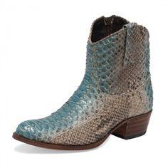 Shop Boots - Sendra Boots 8590 Debora Python Fant A2 - Women - Boots - Sendra Boots Online Store -