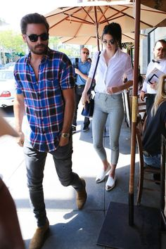 Kendall Jenner and Scott Disick dine in Beverly Hills following affair rumours