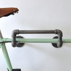 Are you interested in our industrial pipe bike rack ? With our wall mounted steel bike storage you need look no further. Are you interested in our industrial pipe bike rack ? With our wall mounted steel bike storage you need look no further. Bike Storage Garage Wall, Bike Storage Home, Bike Storage Apartment, Bike Storage Rack, Diy Garage, Rack Shelf, Apartment Furniture, Bike Racks For Garage, Wall Mounted Bike Storage