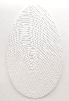 ❖Blanc❖ #White #fingerprint #texture art