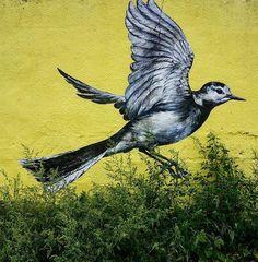 Street Art by ATM in Walthamstow, London  #art #mural #graffiti #streetart