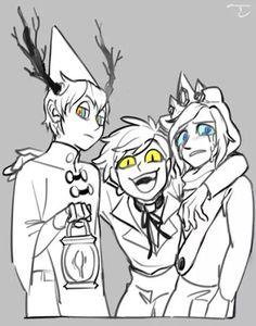 Oh, es normal que me sienta intimidada pir estos tres? Uno es comprensible , pero tres demonios juntos...demonios