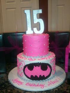Batman cake for my Baby girl !!