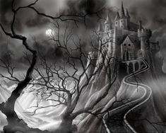 Dark Castle by *JamesHillGallery on deviantART
