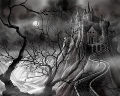 Dark Castle by *JamesHillGallery on deviantART