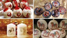 Decoupage, Christmas Bulbs, Retro, Holiday Decor, Free, Home Decor, Decoration Home, Christmas Light Bulbs, Room Decor
