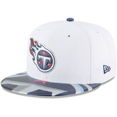 Tennessee Titans New Era 2017 NFL Draft Official On Stage 59FIFTY Fitted Hat  - White 41dcb1833b0e
