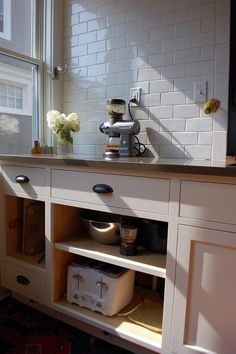 open cabinets for electrics