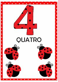 Numerais Joaninha para Imprimir Grátis 1st Grade Worksheets, Preschool Worksheets, Math Activities, Flashcards For Kids, Numbers Preschool, Ladybug Party, Bird Theme, Step Kids, Math For Kids