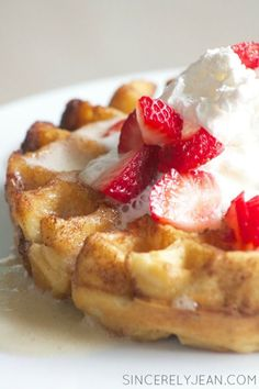 These buttermilk waffles will change your life! They are super easy and quick to make. They are delicious and your family and friends will love them.