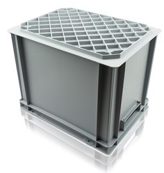 Charmant Strong U0026 Durable Solid Euro Containers With Reinforced Base   Perfect For  Transporting And Storing Heavy