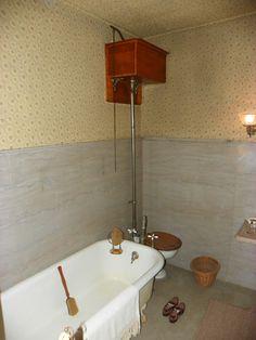 Dr. Physick's luxurious bathroom. Very spa-like, isn't it? www.capemaymac.org