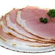 Archer Farms honey glazed spiral ham, like other brands, is sold precooked and pre-sliced in a helical form (ham peels off in a spiral). Spiral ham is great for cold plates and sandwiches, and can be eaten right out of the package. Cooking Ham In Crockpot, Oven Cooking, Cooking Recipes, Pork Recipes, Cooking Bacon, Chicken Recipes, Recipies, Cooking Oil, Crockpot Recipes