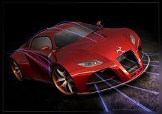 The Roche V4B Supercar Concept
