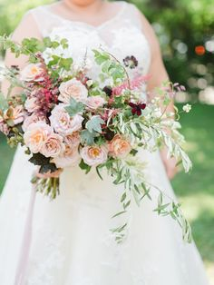 Gorgeous fall bouquet | Photography: Anya Kernes