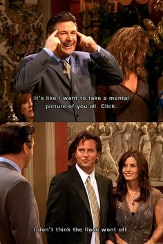 Lol! That's Chandler.
