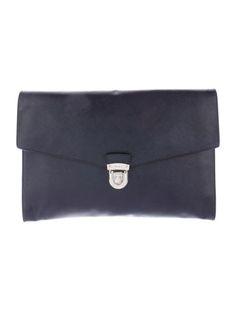 Prada Saffiano Envelope Portfolio