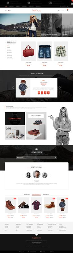 Ballishop Multipurpose Magento Theme #facebook #fashion #mega menu #modern #shopping #$84