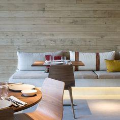 Sandra Tarruella diseña Luzi Bombón, el segundo restaurante del Grupo Tragaluz en Madrid | Interiores Minimalistas