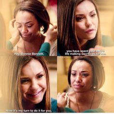TVD | 6x22 | Bonnie and Elena | Goodbye