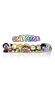 Chibi Straw hat pirates crew - Monkey D. luffy, Tony Tony Chopper, Roronoa Zoro, Sanji, Brook, Usopp, Nami, Franky, Nico Robin One piece