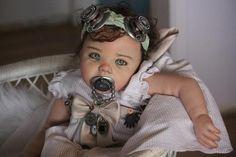 steampunktendencies:  mylifeandothernonsense:  emporioefikz:  steampunktendencies:  Bean Shanine  Ultra realistic baby doll!  Omg this is a doll!?  Yes!